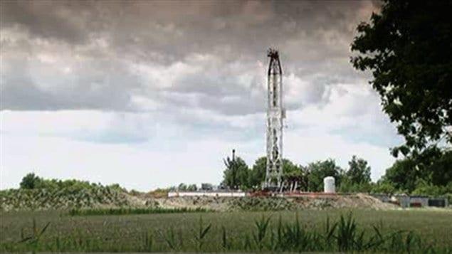 Puits de gaz naturel