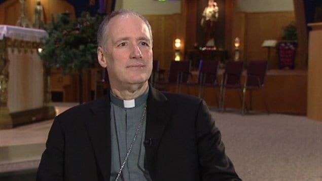 Monseigneur Paul-André Durocher, archevêque de Gatineau (archives)