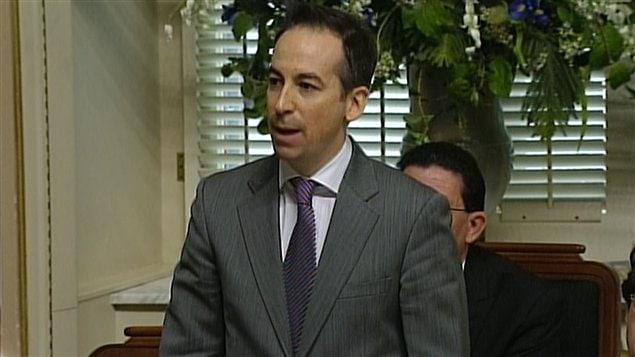 Le député péquiste Nicolas Girard