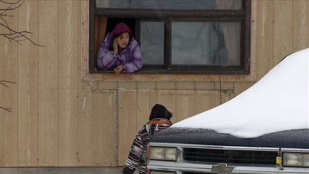 Des résidents d'Attawapiskat