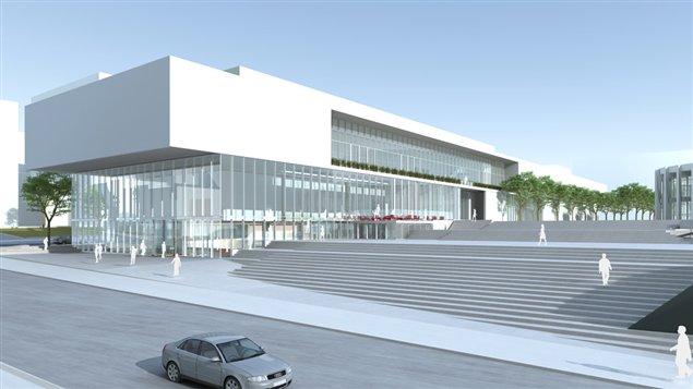 Le Musée d'art contemporain de Montréal demande l'aide du gouvernement fédéral pour son agrandissement.