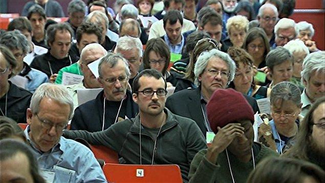 Le 7e congrès de Québec solidaire, à Montréal