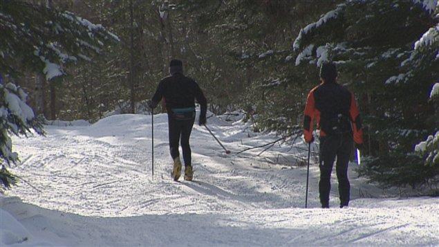 Les skieurs sont nombreux au mont Sainte-Anne ces jours-ci
