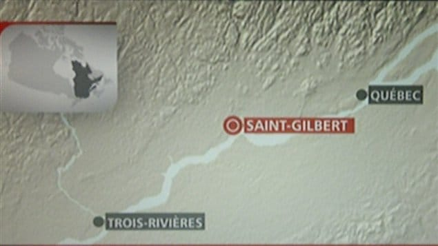 Carte de Saint-Gilbert dans Portneuf