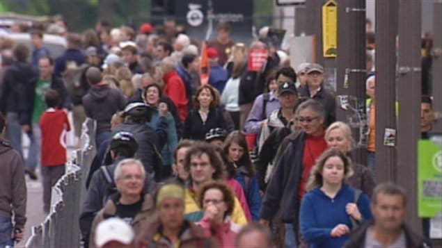 Population de Québec