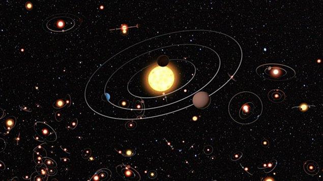 Des étoiles dans la Voie lactée
