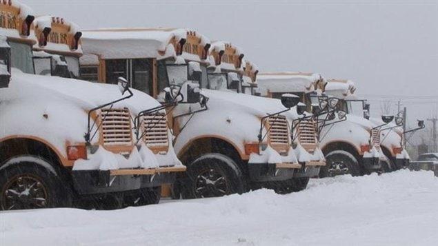 Le transport scolaire a été annulé deux fois dans la même semaine
