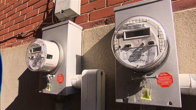 Les nouveaux compteurs dits « intelligents » d'Hydro-Québec.