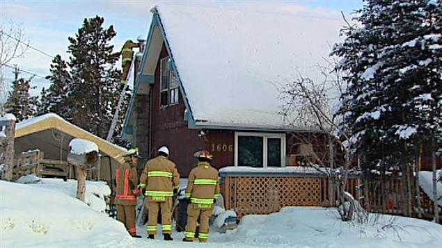 Cinq personnes sont mortes dans cette maison à Whitehorse