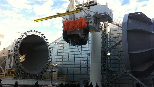 La multinationale Général Électrique a ouvert un tout nouveau centre d'essais, de recherche et développement de moteurs d'avions à Winnipeg.