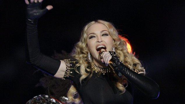 Madonna au Superbowl