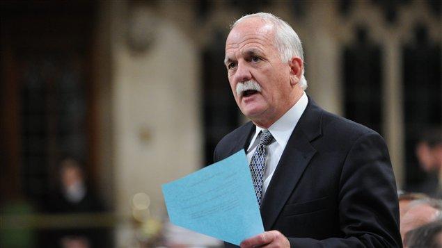Le ministre de la Sécurité publique, Vic Toews