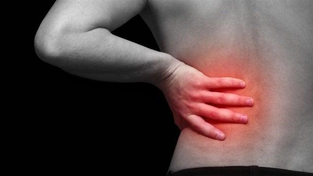 Fait mal le dos jusquà mensuel encore la semaine
