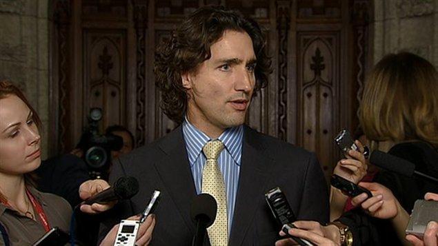 Justin Trudeau a dû clarifier ses propos, mardi aux communes.