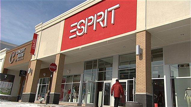 Esprit plie boutique en am rique du nord ici radio - Boutique esprit lille ...
