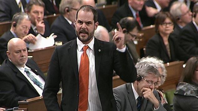 Le député néo-démocrate de Rosemont-La-Petite-Patrie, Alexandre Boulerice