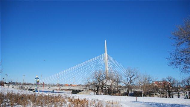 Le pont Provencher à Winnipeg