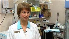 Johanne Gingras est infirmière à l'hôpital régional du pénitencier Archambault.