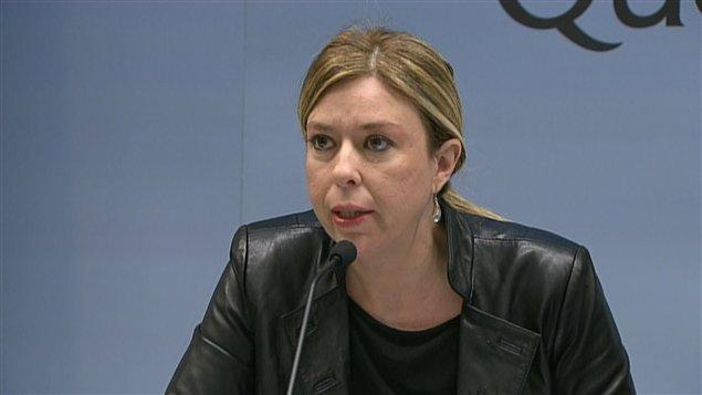 La ministre déléguée aux Services sociaux, Dominique Vien
