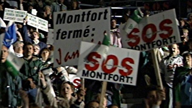 Le grand rassemblement pour la survie de l'Hôpital Montfort.
