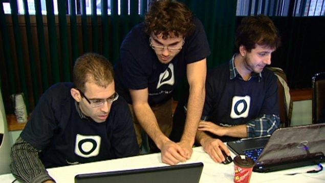 Des programmeurs gatinois développent une nouvelle application web