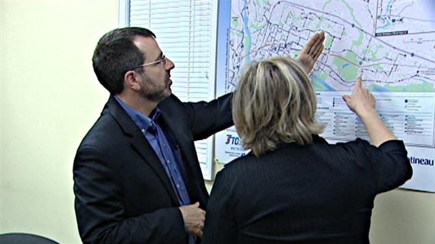 Le conseiller Patrice Martin, président de la Société de transport de l'Outaouais.