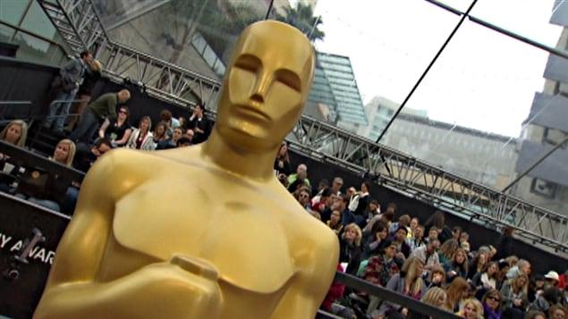 La cérémonie des Oscars 2012 à Hollywood.