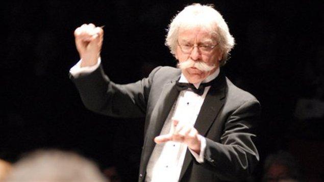 Le chef fondateur de l'Orchestre symphonique régional, Jacques Marchand