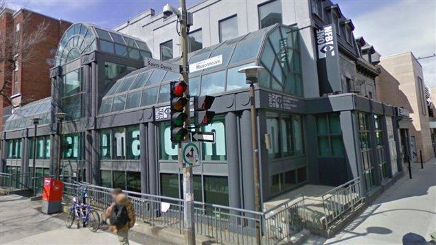 La CinéRobothèque de l'Office national du film, au centre-ville de Montréal