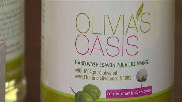 Savon liquide Olivia's oasis