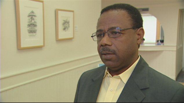 Jean-Élie Larrieux, président du CREFI, en Haïti
