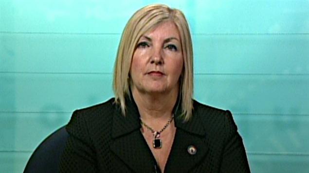 La députée de Hull Maryse Gaudreault.
