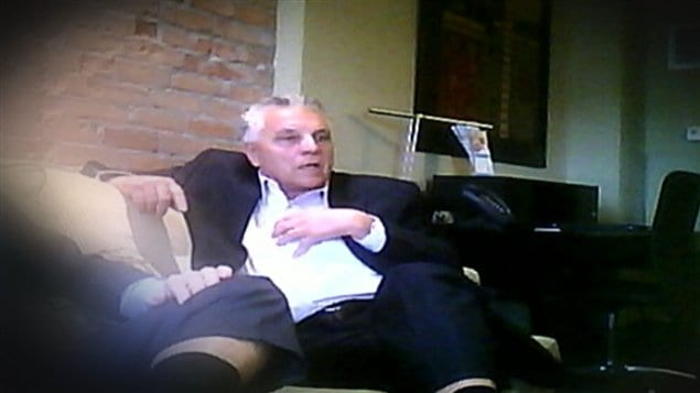 Pierre Coulombe, ancien organisateur en chef du Parti conservateur au Québec, filmé à son insu