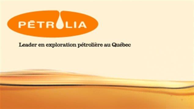 Page web de la compagnie Petrolia
