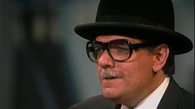 Jean-Guy Moreau sous les traits de l'ex-maire de Montréal, Jean Drapeau.