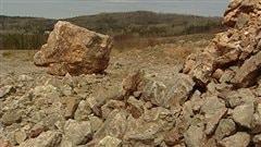 Gisement de la future cimenterie de Port-Daniel-Gascons