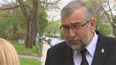 Le conseiller indépendant Yvon Bussières