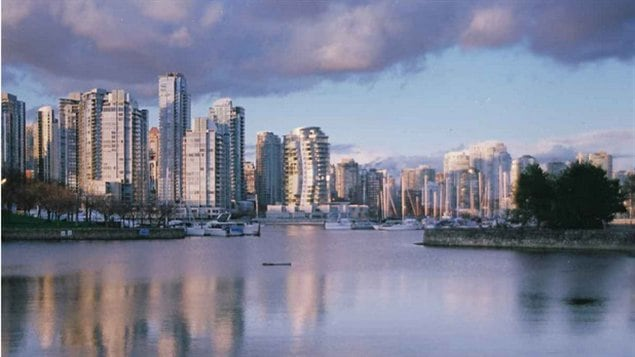 Vancouver from False Creek, photographie de Yolande Morin