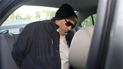 Frank Zampino lors de son arrestation