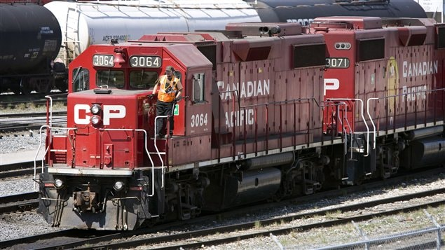 Un train du Canadien Pacifique