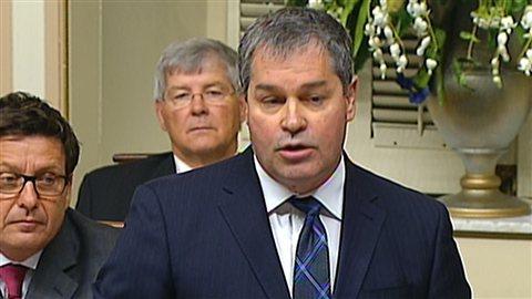 Le ministre de la Santé du Québec, Yves Bolduc