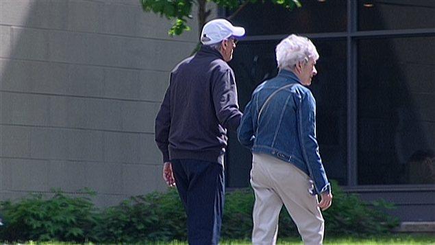 Personnes âgées dans un CHSLD