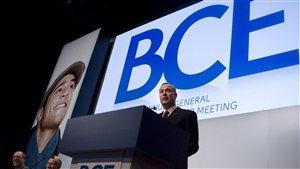 Le PDG de BCE, George Cope (archives)