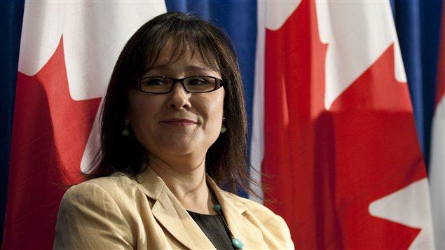 La ministre fédérale de la Santé, Leona Aglukkaq
