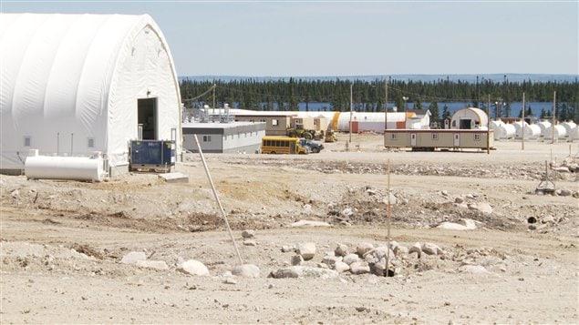 Le projet de mine d'uranium Matoush, de l'entreprise montréalaise Strateco