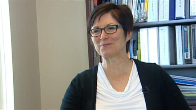 La présidente de l'ACFA, Dolorèse Nolette