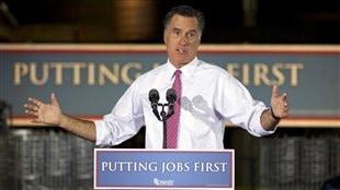 Mitt Romney a fait campagne à Cincinnati.
