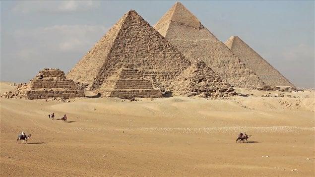Les pyramides en Égypte
