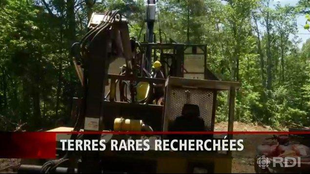 Activités de forage de l'entreprise Matamec