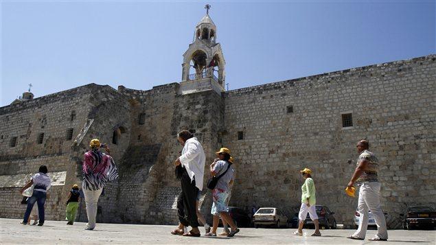 Le site de l'église de la Nativité de Bethléem, en Cisjordanie, a été inscrit par l'UNESCO au patrimoine mondial.